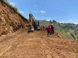 Prefectura realiza trabajos de mantenimiento vial en varios sectores de la Provincia